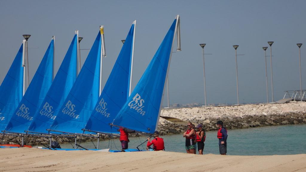 Sailing at St Regis