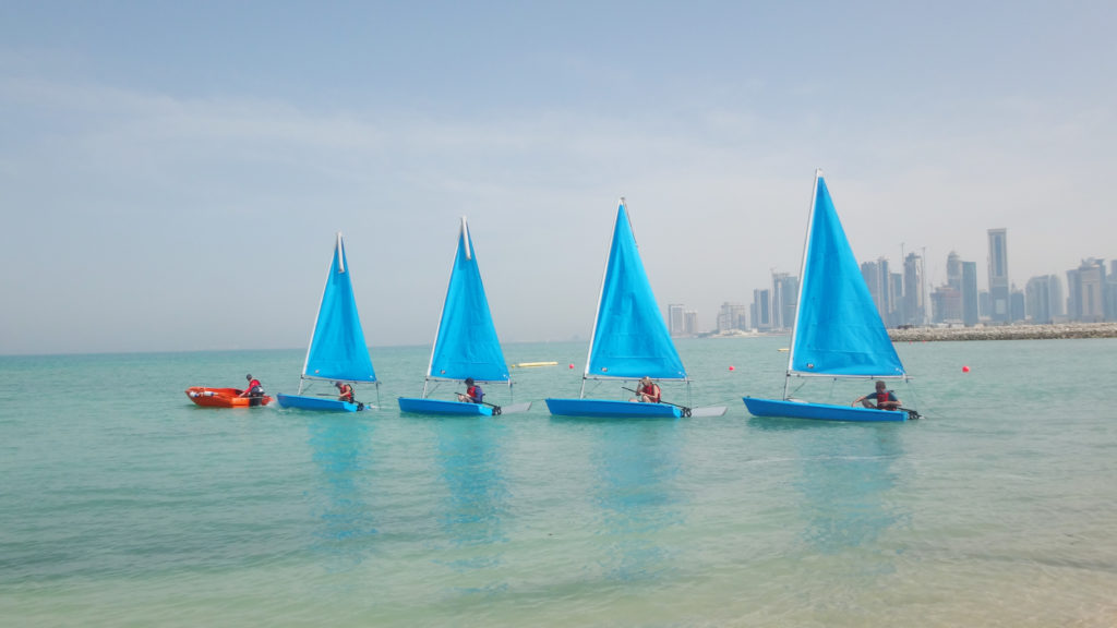 Sailing West Bay